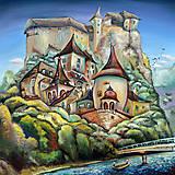 Grafika - Oravský hrad / reprodukcia - 10102342_