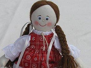 Hračky - Handrová bábika folklórna - 10099562_