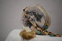 Náhrdelníky - Strapcový bohémsky náhrdelník - 10098963_