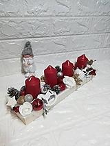 Svietidlá a sviečky - Adventný svietnik - 10102921_