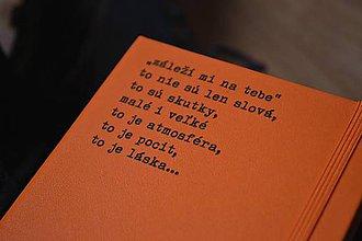 Papiernictvo - Zápisník - Záleží mi na tebe - 10100586_