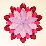 Obrazy - MANDALA Lotosový kvet 60X60 (bledá breza) - 10103576_
