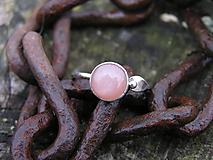 Prstene - Strieborny prsteň Ag 925 Mesačný kameň - 10103436_