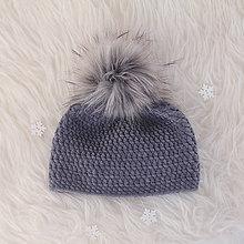 Detské čiapky - zimná čiapka - 10102073_