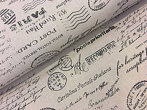 Textil - Bavlna dekor dovoz Taliansko - 10100524_