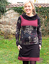 Šaty - ON THE SUBWAY dress.. - 10101429_