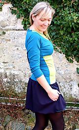 Šaty - DREAMS COME TRUE ... mix dress (zelené) - 10103589_