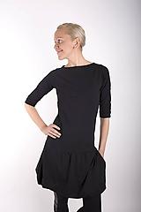 Šaty - VEGA... black dress - 10103819_