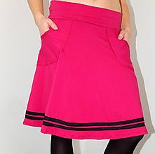 Sukne - Fuchsiová kráska... - 10103717_