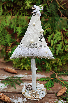 Dekorácie - Vianočný stromček veľký III. - 10102067_
