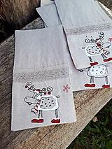 - Vianočné puzdro na príbor Christmas Deers - 10102359_