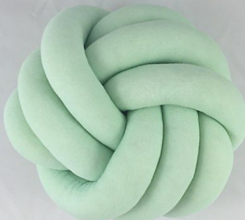 Úžitkový textil - Pletený vankúš - 10102857_