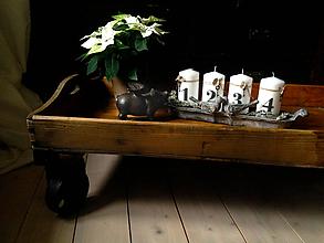 Svietidlá a sviečky - ADVENTné Sviečky - 10104310_