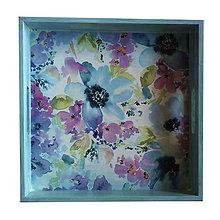 Nádoby - JA & TY (podnos/tácka) (30x30cm pastel.zelená) - 10105456_