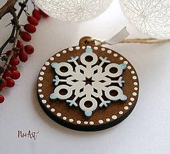 Dekorácie - Vianočná ozdoba masív 11 - 10104484_