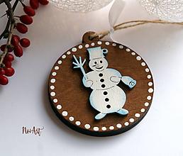 Dekorácie - Vianočná ozdoba masív 13 - 10108222_