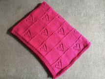 Úžitkový textil - Deka do postieľky - 10106952_
