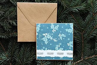 Papiernictvo - Vianočná pohľadnica - 10108276_