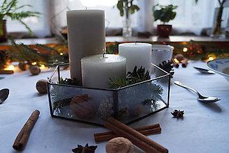 Svietidlá a sviečky - Terárium Valér - 10104113_