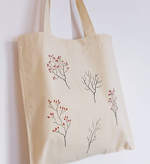 Plátená taška šípky