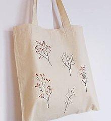Nákupné tašky - Plátená taška šípky - 10107841_