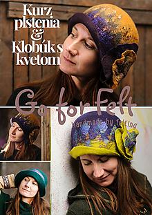 Kurzy - Kurz plstenia s GoForFelt - Klobúk - 10106540_