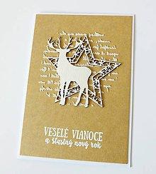 Papiernictvo - pohľadnica vianočná - 10104144_