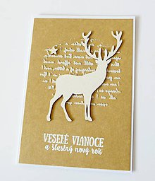 Papiernictvo - pohľadnica vianočná - 10104148_