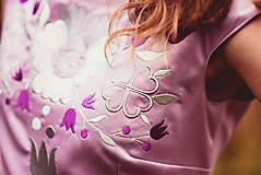 Šaty - Lila šaty Poľana - 10104846_