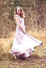 Šaty - Lila šaty Poľana - 10104848_