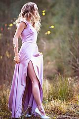Šaty - Lila šaty Poľana - 10104849_