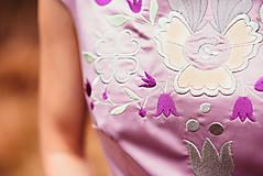 Šaty - Lila šaty Poľana - 10104852_