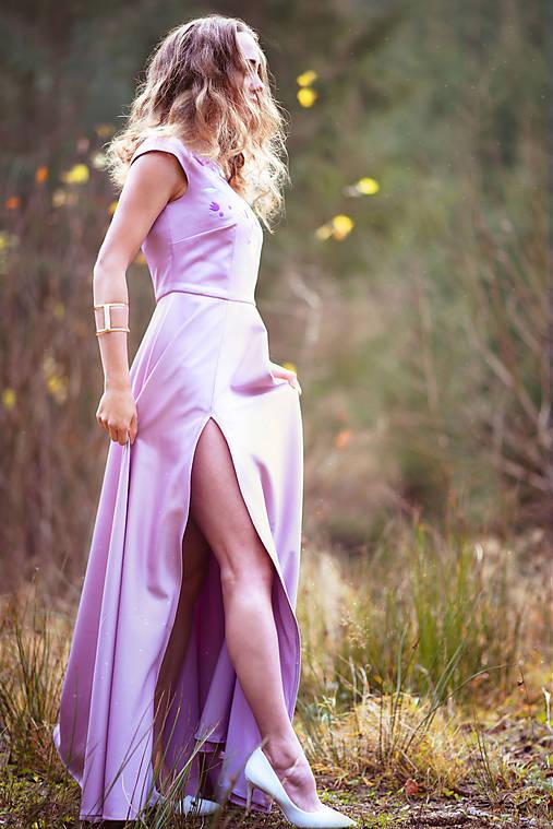 Lila šaty Poľana