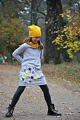 Detské oblečenie - Teplákové balónové šaty/tunika Kaia - 10105448_