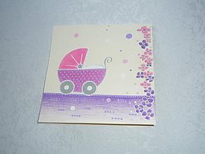 Papiernictvo - ...k narodeniu dievčatka :-) - 10105752_