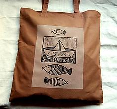 Nákupné tašky - taška - námornícka - 10106737_