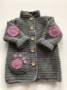 Detské oblečenie - Detský kabátik Foot - 10104830_