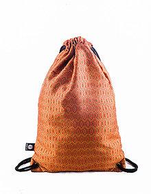 Batohy - Brokátový tehlový ruksak VINITHA 5 - 10104026_