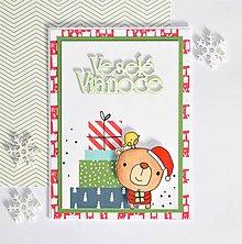 Papiernictvo - Vianočná pohľadnica - 10106592_