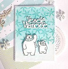Papiernictvo - Vianočná pohľadnica - 10107283_