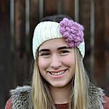 Ozdoby do vlasov - Čelenka kvetinková - 10107221_