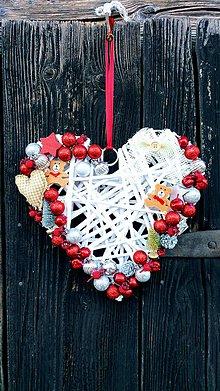 Dekorácie - Vianočný veniec - 10107296_