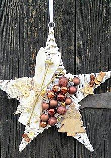 Dekorácie - Vianočný veniec - 10107337_