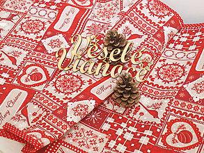 Úžitkový textil - ...vianočná štóla... - 10106499_