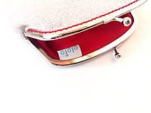 Peňaženky - Peňaženka XL Líška s fialovým kvietkom - 10104230_