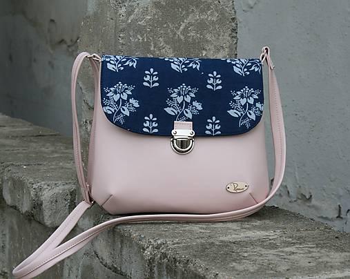 kabelka Ria modrotlačová ružová 1