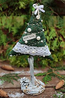 Dekorácie - Vianočný stromček veľký IV. - 10106308_
