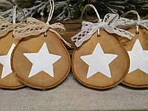 Dekorácie - vianočné ozdôbky - 10104348_