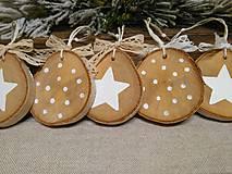 Dekorácie - vianočné ozdôbky - 10104353_