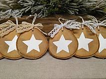 Dekorácie - vianočné ozdôbky - 10104354_
